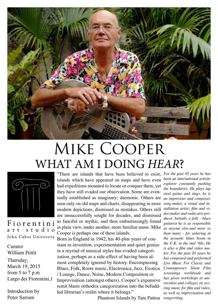 mike cooper lecture studio art A4_web